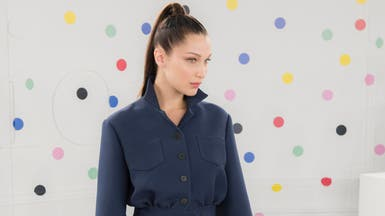 """بيلا حديد في دبي للمشاركة بمعرض ديور """"للألوان"""""""