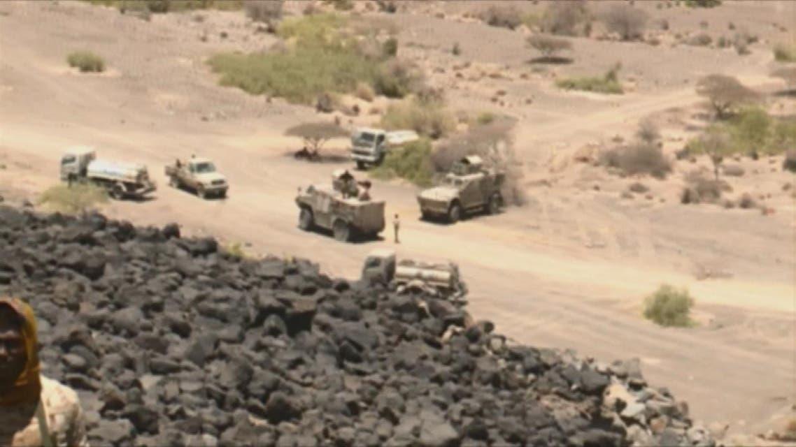 THUMBNAIL_ الجيش اليمني يتقدم غرب #تعز ويسيطر على #جبال_النار