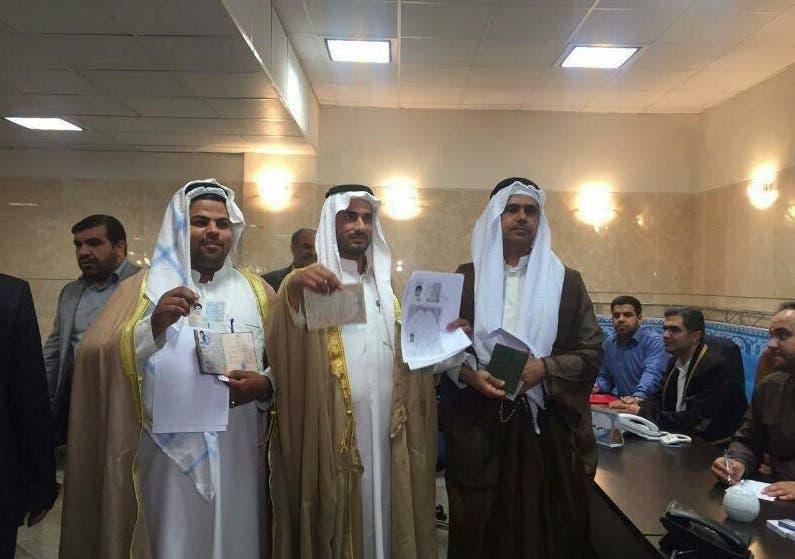 المرشحون العرب في الأهواز