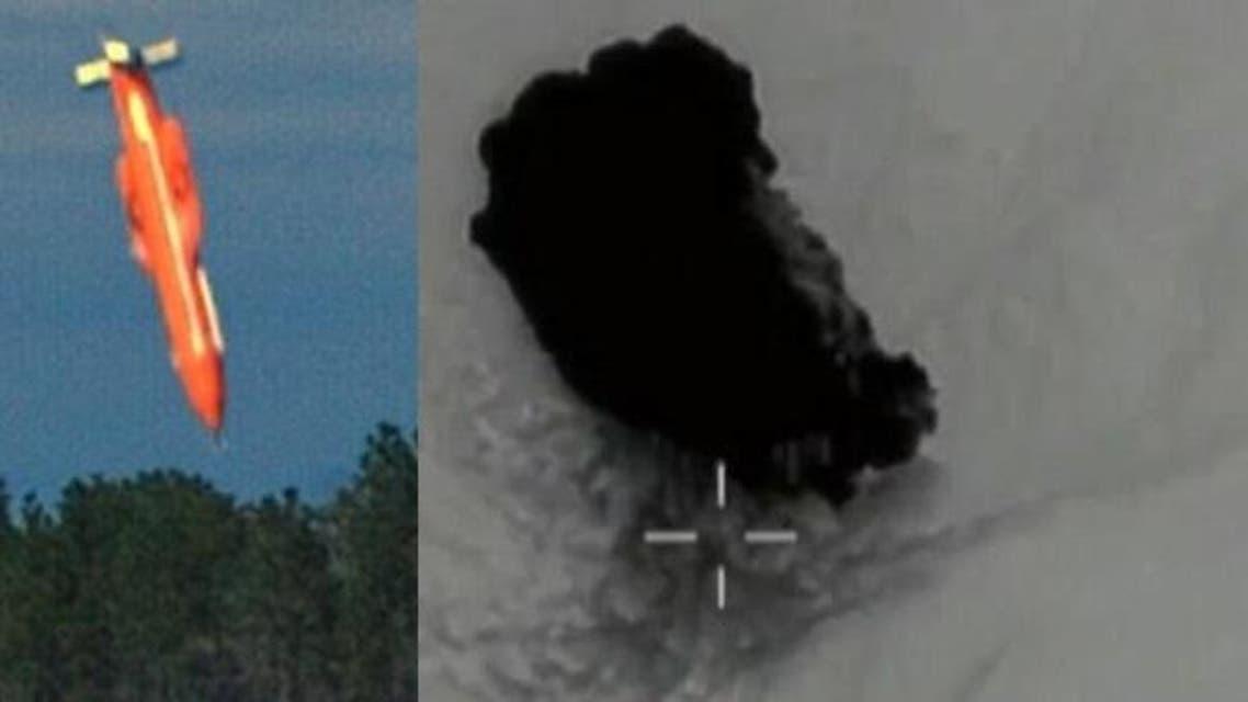 """شاهد """"أم القنابل"""" وهي تنقضّ على """"دواعش"""" الأفغان وتنفجر"""