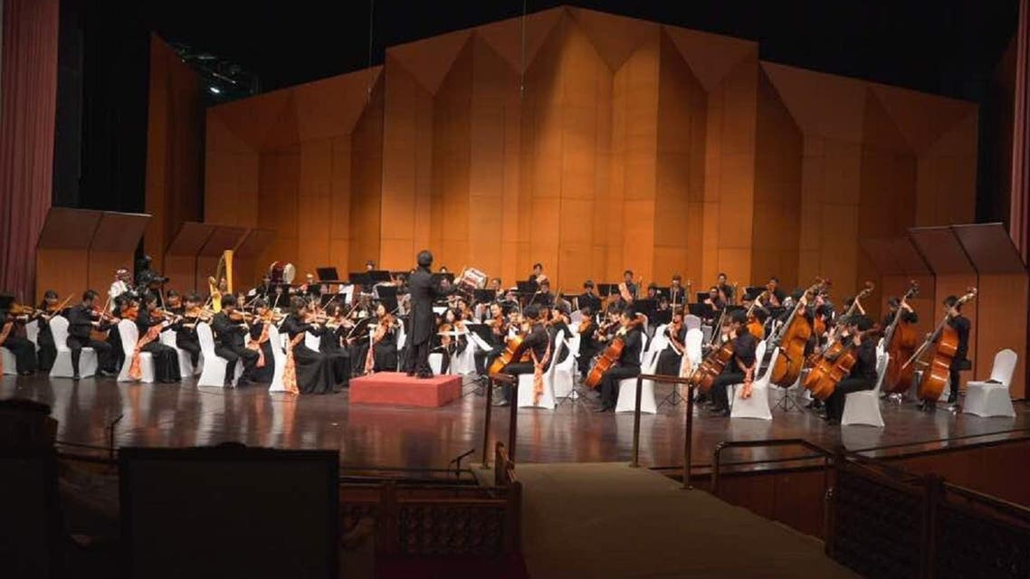 The first Japanese orchestral concert led by maestro Hirofumi Yoshida was held at the King Fahd Cultural Center in Riyadh. (Supplied)