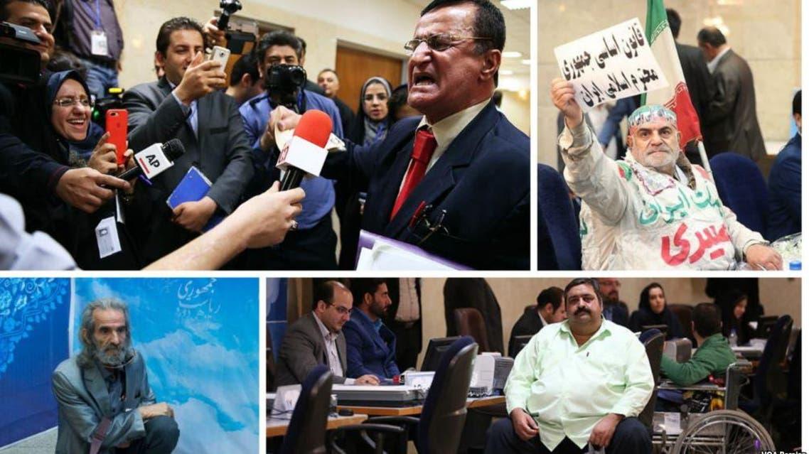 عدد من المرشحين لانتخابات الرئاسية الإيرانية