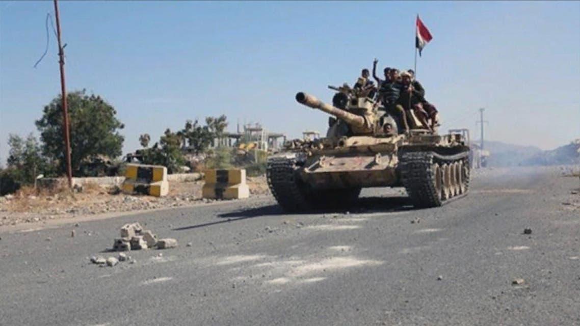 THUMBNAIL_ شاهد معارك الجيش الوطني اليمني للسيطرة على معسكر خالد بن الوليد في تعز