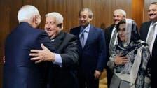 شاهد.. مستشارة الأسد تتحجّب في لقاء مع ظريف بموسكو!