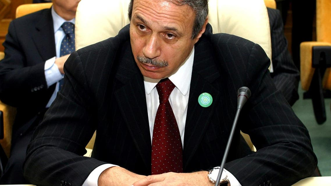 File photo of former interior minister Habib el-Adly sentenced  to seven years in jail on Saturday on corruption charges. (Reuters)