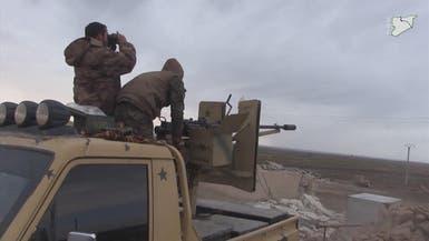 قوات سوريا الديمقراطية تتقدم ضد داعش في الطبقة بسوريا
