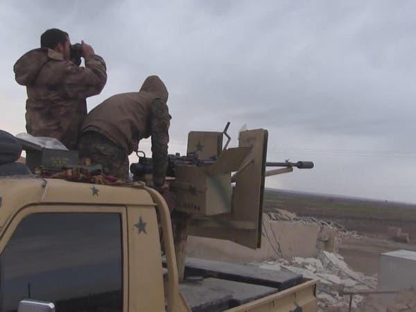قوات سوريا الديمقراطية تسيطر على ضواحي في مدينة الطبقة بريف الرقة