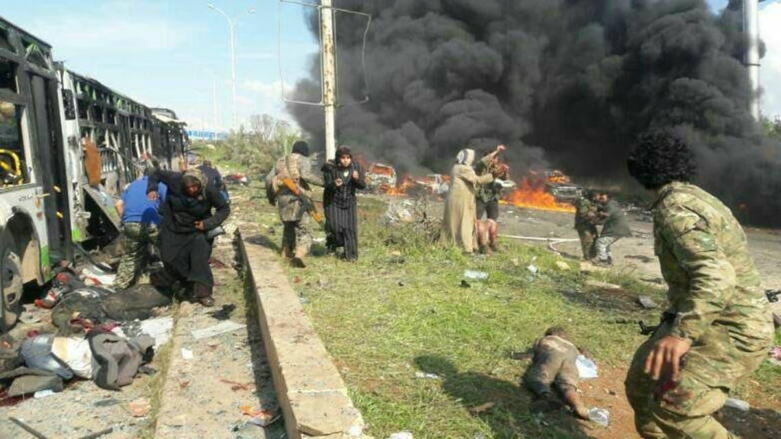 حلب انفجار
