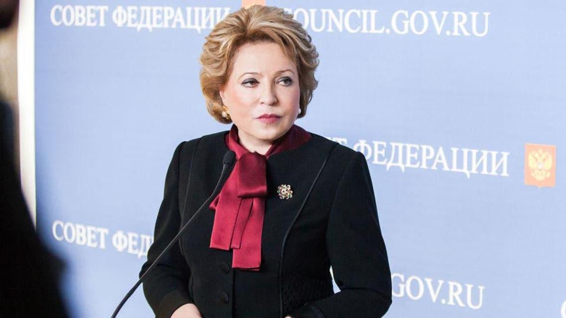 فالنتينا ماتفيينكو - رئيس البرلمان الروسي