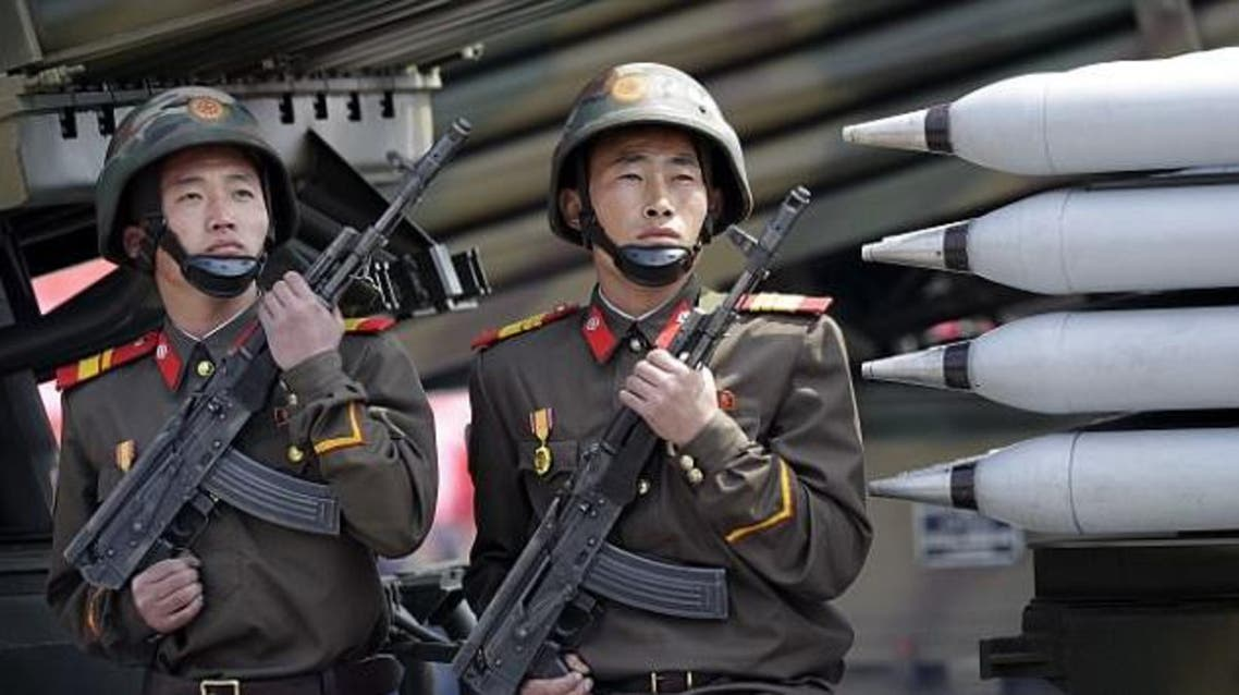 جنود كوريا الشمالية