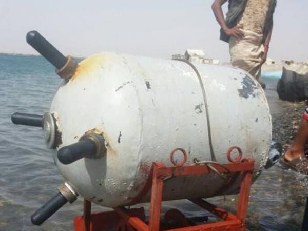 """""""السهم البحري"""".. إزالة ألغام إيرانية زرعها الحوثيون"""
