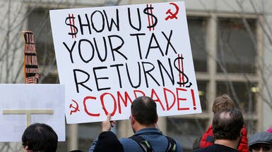 أميركا.. تظاهرات تطالب ترمب بالتصريح عن ضرائبه
