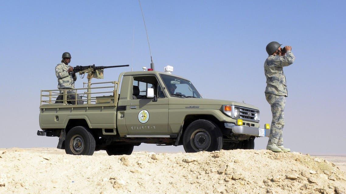 أفراد من حرس الحدود السعودي
