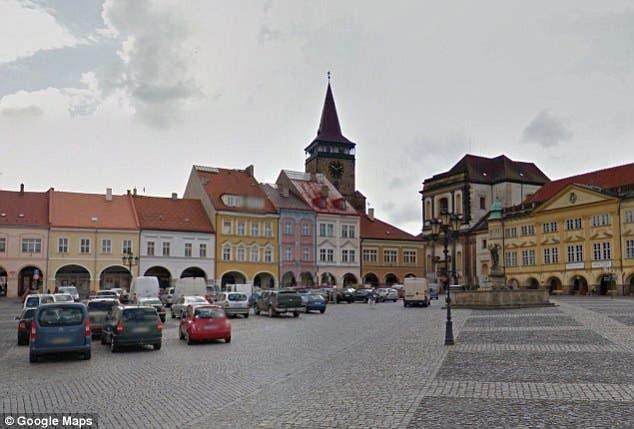المدينة التي شهدت الكارثة في شمال جمهورية تشيكيا
