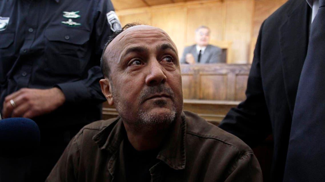 A file photo of jailed Fatah leader Marwan Barghouti (Reuters)