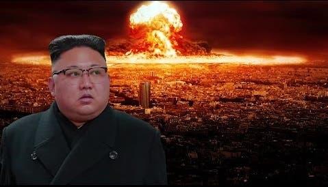 الدكتاتور الكوري أمر باطلاق الصاروخ استفزازا للولايات المتحدة، فانفجر بعد 5 ثوان من اطلاقه