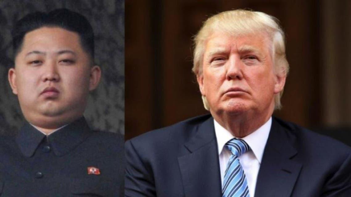الرئيس الأميركي دونالد ترمب والزعيم الكوري الشمالي كيم جونغ