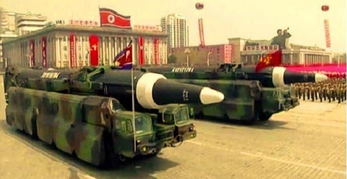 واحد من هذه الصواريخ كان معدا للاطلاق صباح الأحد، ففشلت التجربة ذريعا
