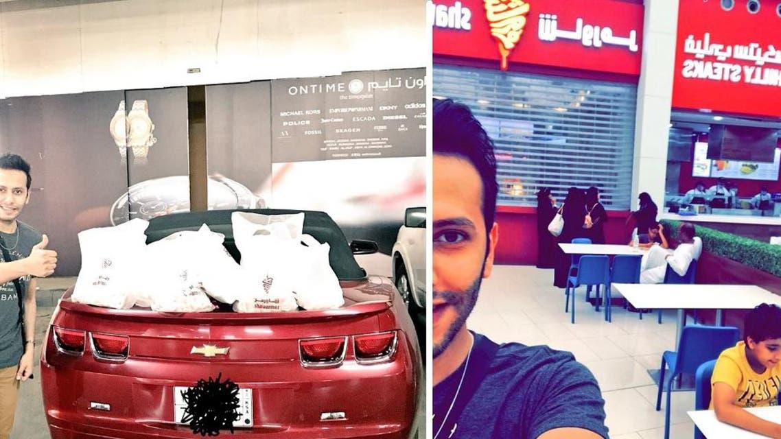 AbdelAziz al-Qahtani who has over 36,000 followers on Twitter ushered his users towards a good cause. (Photo courtesy: @Mr_Abdul3ziz)
