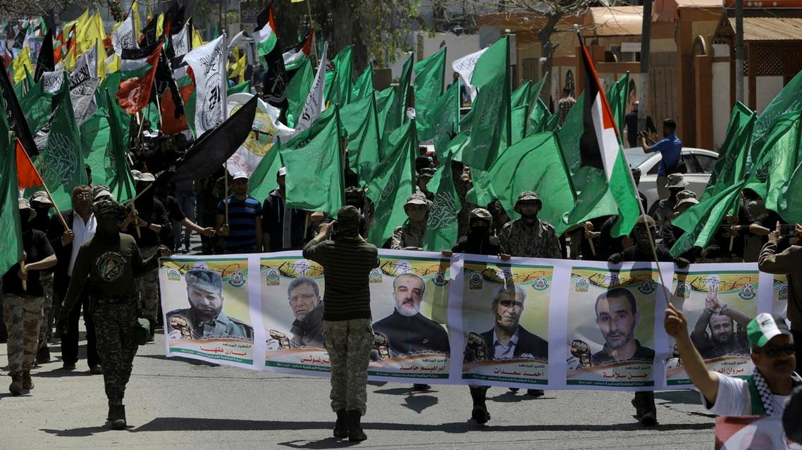 More than 1,500 Palestinian prisoners have launched an open-ended hunger strike to demand better conditions in Israeli prisons. (AP)