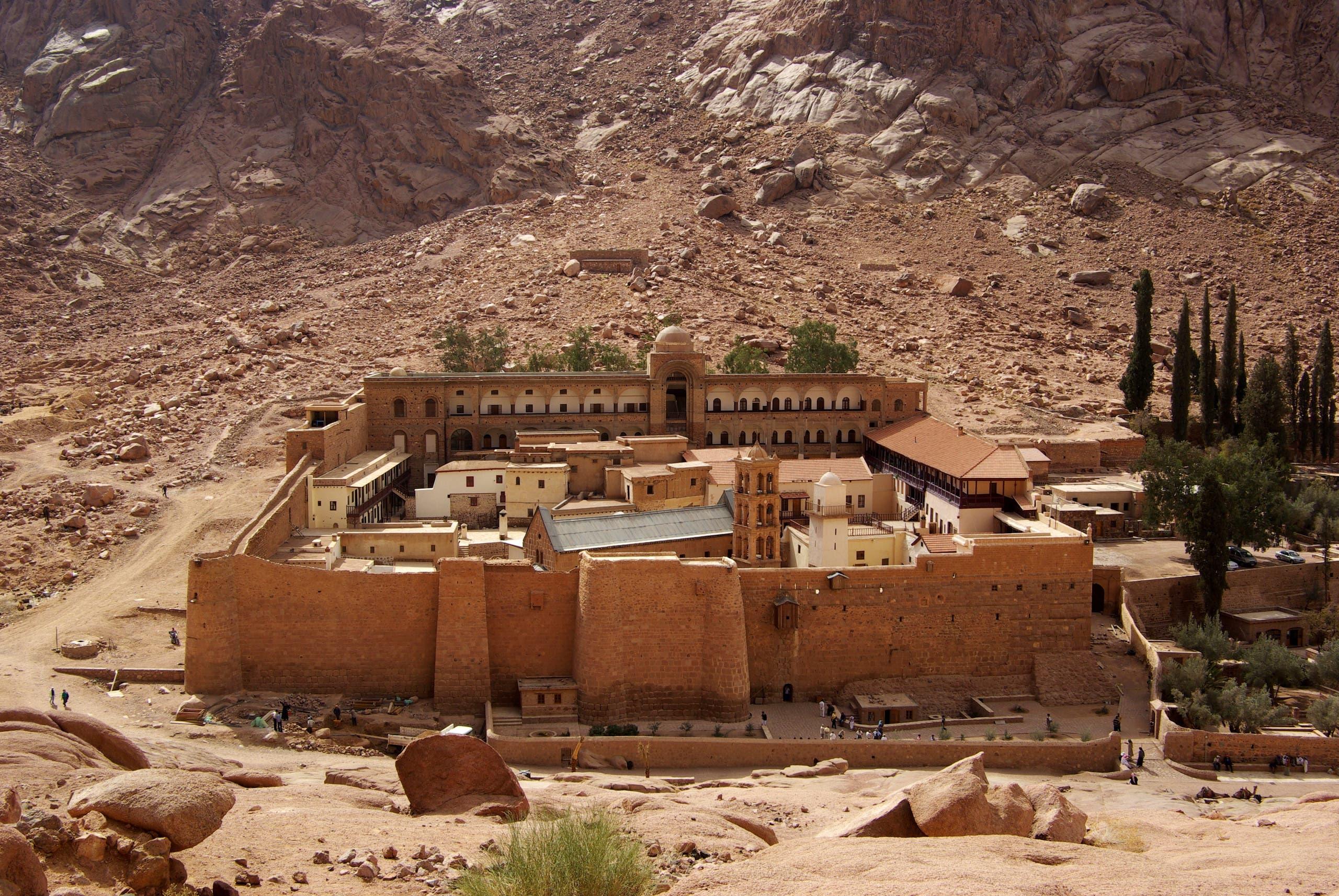 دير سانت كاترين في جنوب سيناء