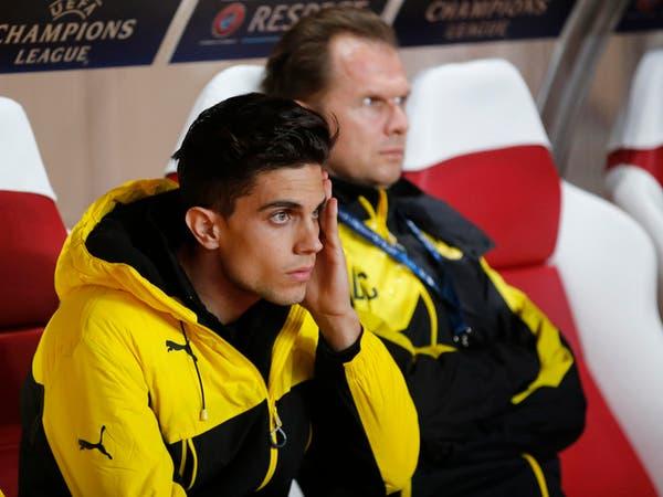 بارترا يدعم زملاءه أمام موناكو رغم الإصابة