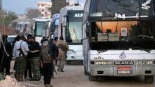 """سوريا.. استئناف إجلاء سكان """"البلدات الأربع"""""""