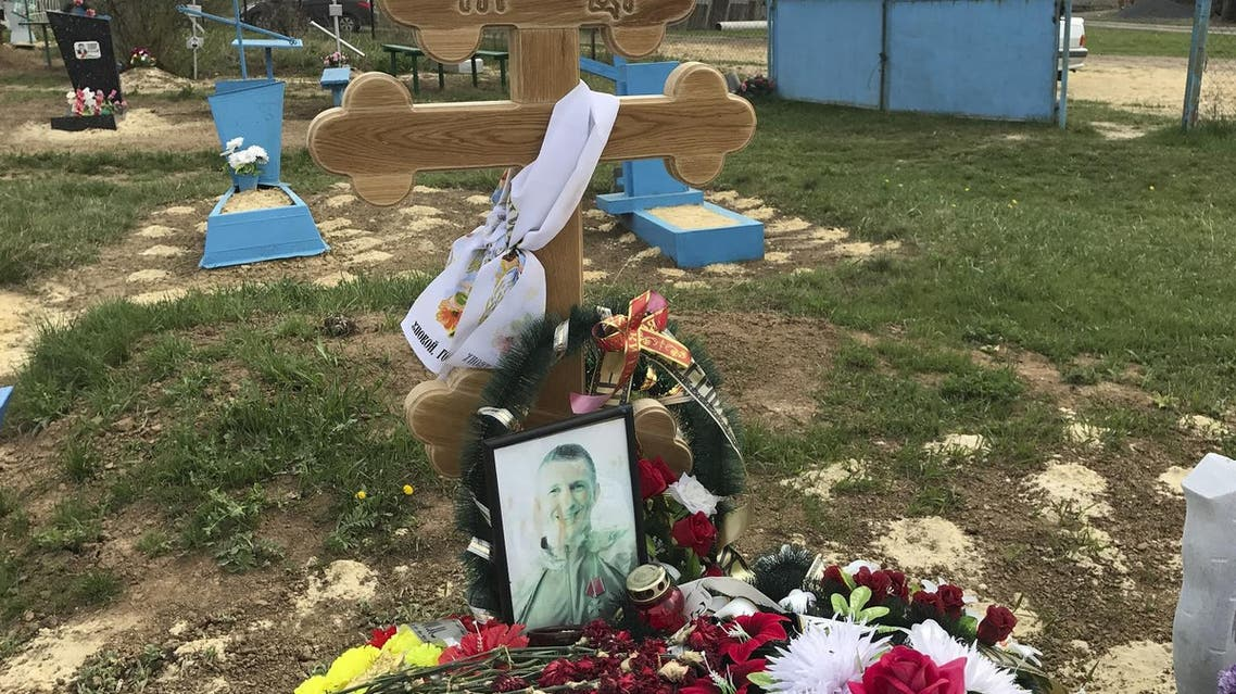 The grave of Russian military contractor Alexei Safonov, who is said to have been killed in Syria, at a cemetery in the settlement of Khutor Pochtovy, southern Russia, April 14, 2017 (Photo: Reuters/Maria Tsvetkova)