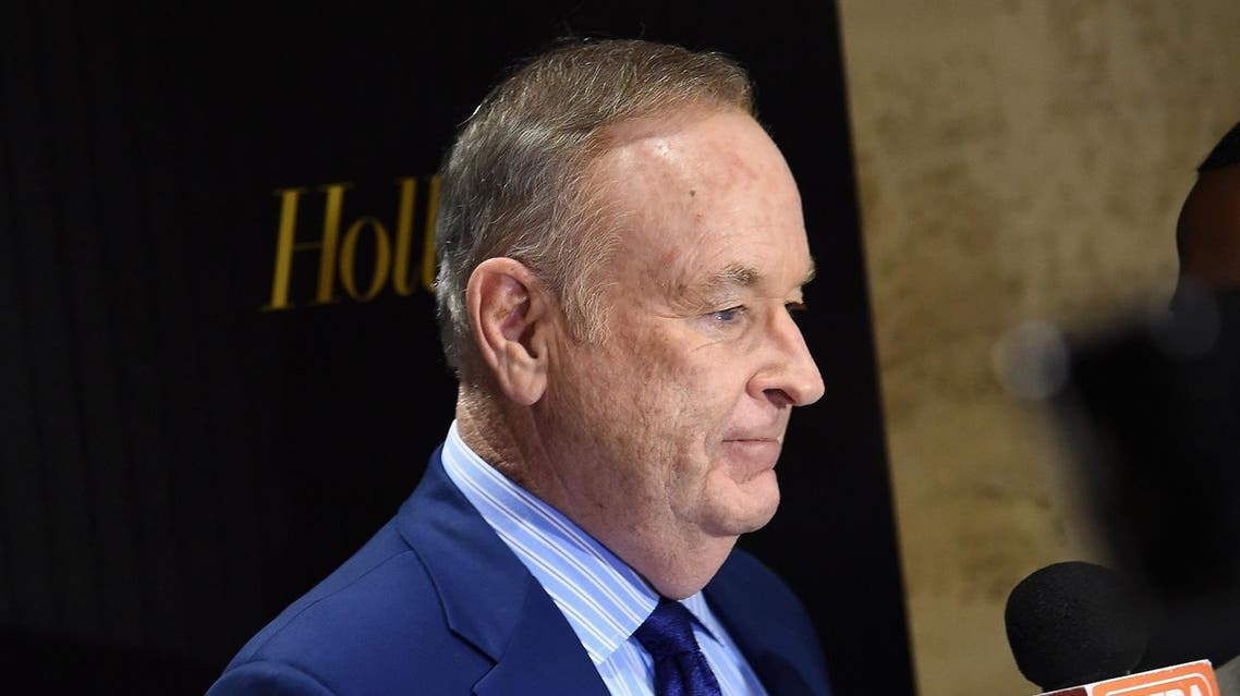 (FILES) This file photo taken on April 5, 2016 shows Television host Bill O'Reilly attending the Hollywood Reporter's 2016 35 Most Powerful People in Media at Four Seasons Restaurant in New York City. (AFP)