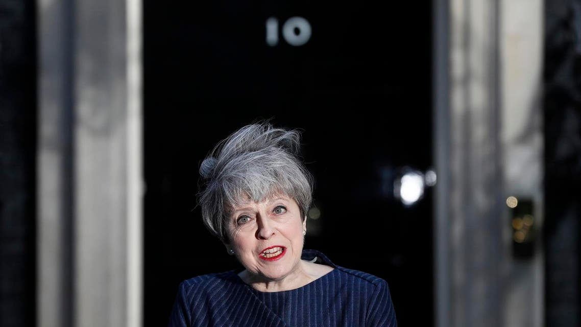 Britain's Prime Minister Theresa May announces the snap election outside 10 Downing Street (Photo: Reuters/Stefan Wermuth)
