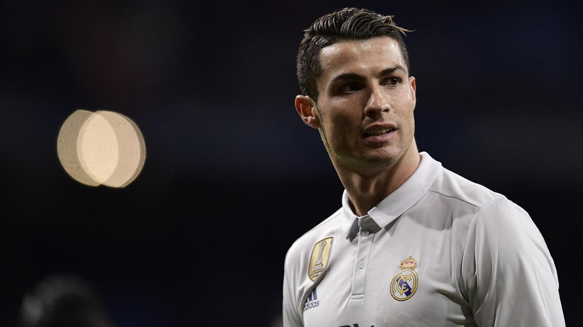 Real Madrid's Portuguese forward Cristiano Ronaldo looks on during the Spanish league football match Real Madrid CF vs UD Las Palmas at the Santiago Bernabeu stadium in Madrid on March 1, 2017.