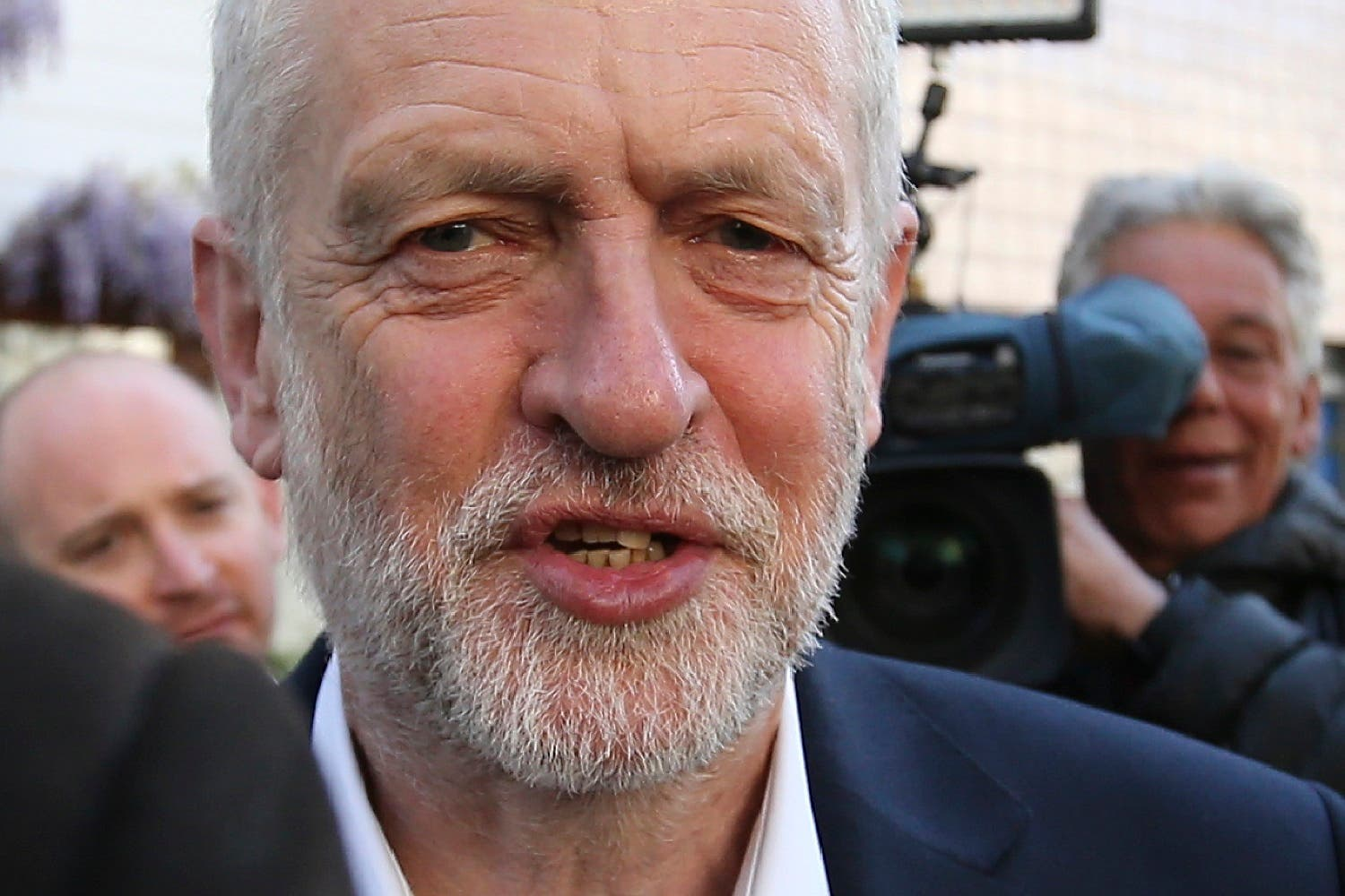 Will Britain's main opposition Labour Party leader Jeremy Corbyn resign if he loses the general election (Daniel Leal-Olivas/AFP)