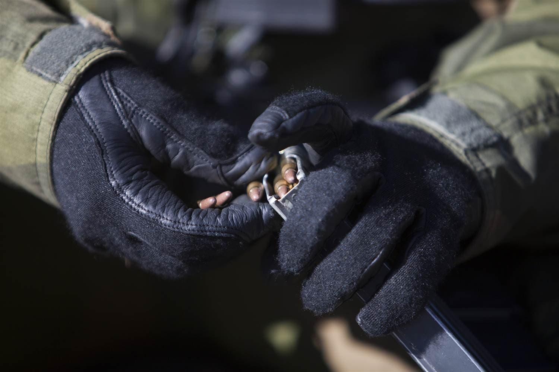عملية تزويد السلاح بالذخيرة