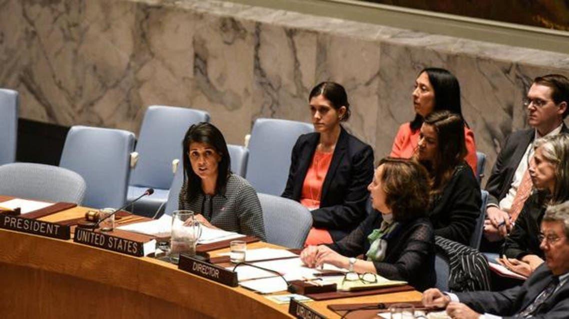 نيكي هالي مندوبة أميركا في الأمم المتحدة