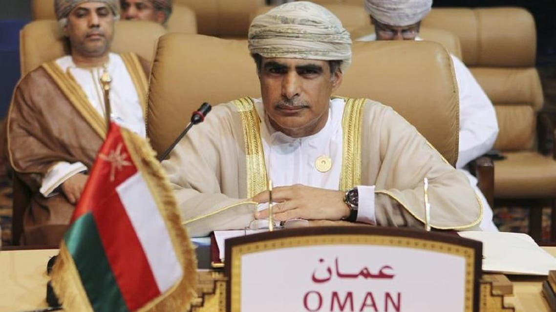 Omani Oil Minister Mohammed bin Hamad al-Rumhy at a meeting in Doha. (File photo: Reuters)
