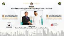 Al Arabiya's Naser El Tibi wins Best GCC-based Energy Journalist award