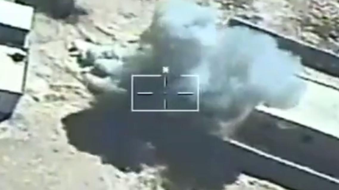 غارات جوية في سيناء