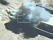 بالفيديو.. مقتل 19 إرهابيا من داعش سيناء بضربة جوية