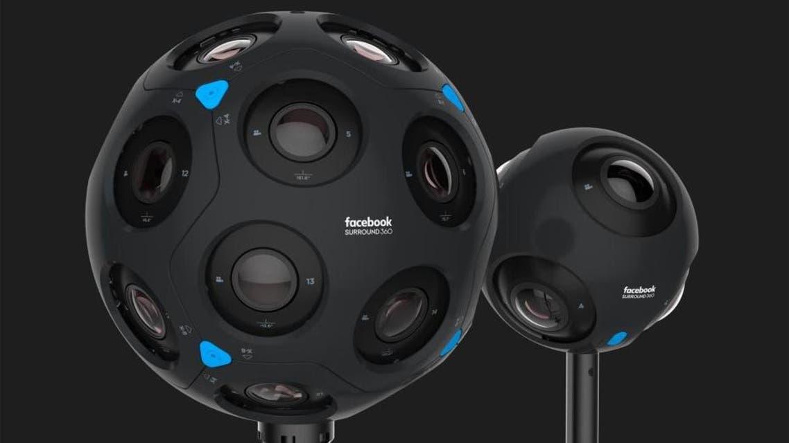 فيسبوك كاميرا surround 360