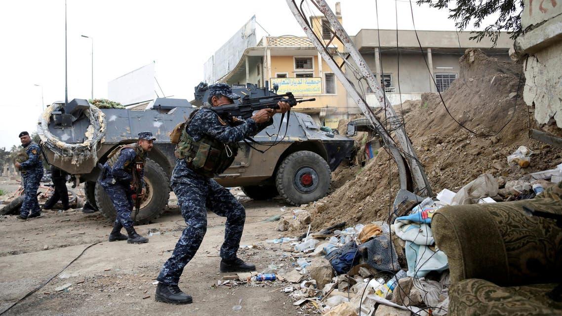 عناصر من القوات العراقية المشتركة في الموصل 3