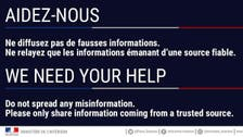 'Don't spread misinformation' says French interior after Champs-Elysees attack