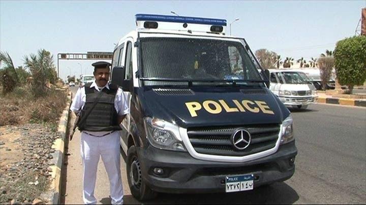 سيارات شرطة مصرية