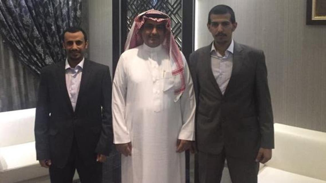 Two Saudis were among the group of Qatari fishermen released on Friday. (supplied)