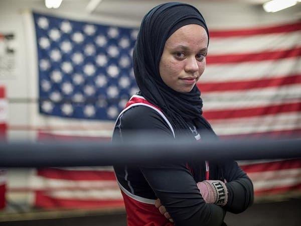 أول ملاكمة أميركية.. ترتدي الحجاب