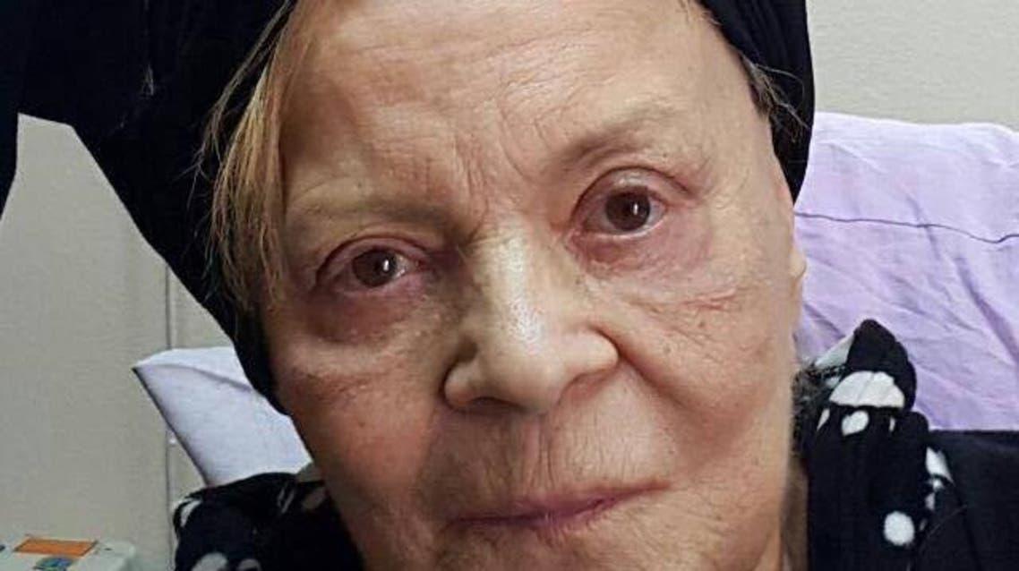الفنانة المصرية نادية لطفي في المستشفى
