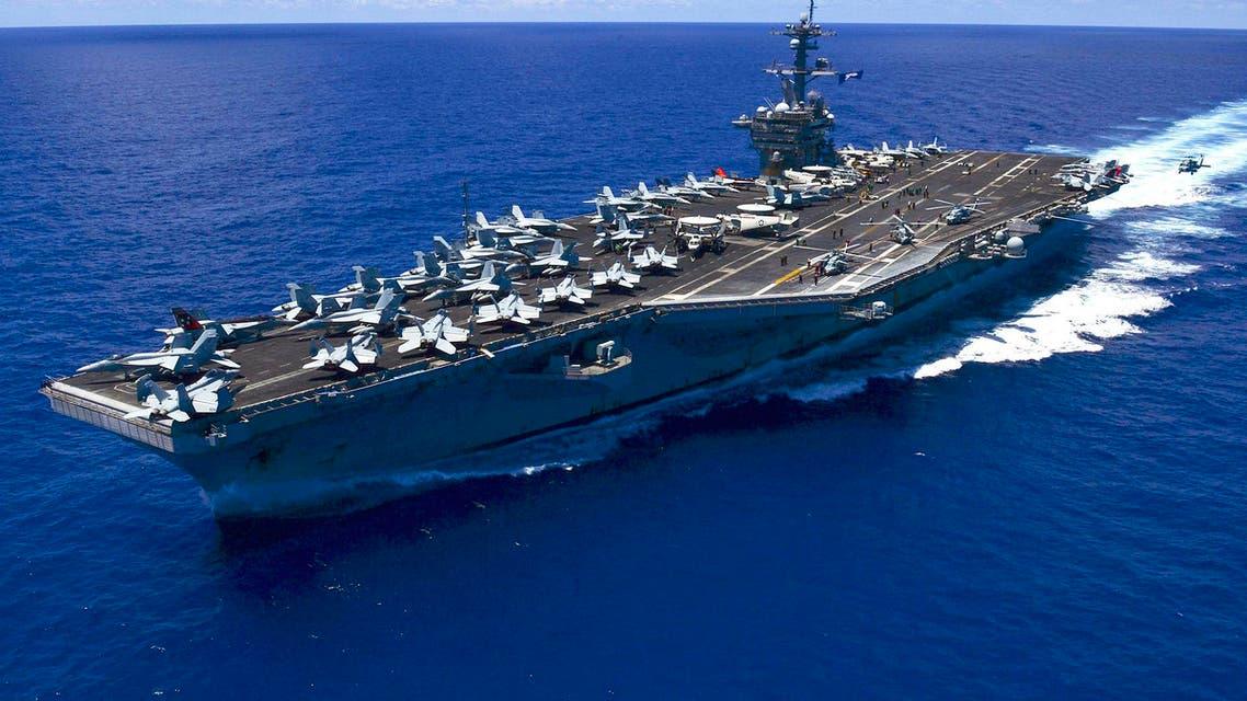 US aircraft carrier Carl Vinson