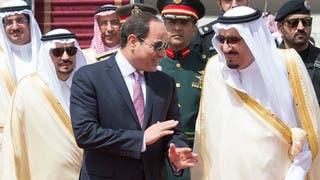 الرئيس المصري يصل الرياض ضمن زيارة رسمية
