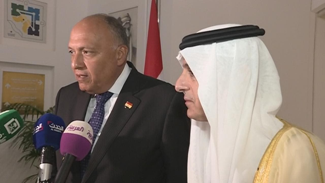 THUMBNAIL_ الجبير: لا أساس لشكوك الإعلام حول علاقة السعودية بمصر