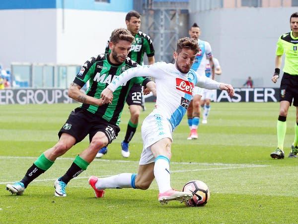 البولندي ميليك ينقذ نابولي من الخسارة أمام ساسولو