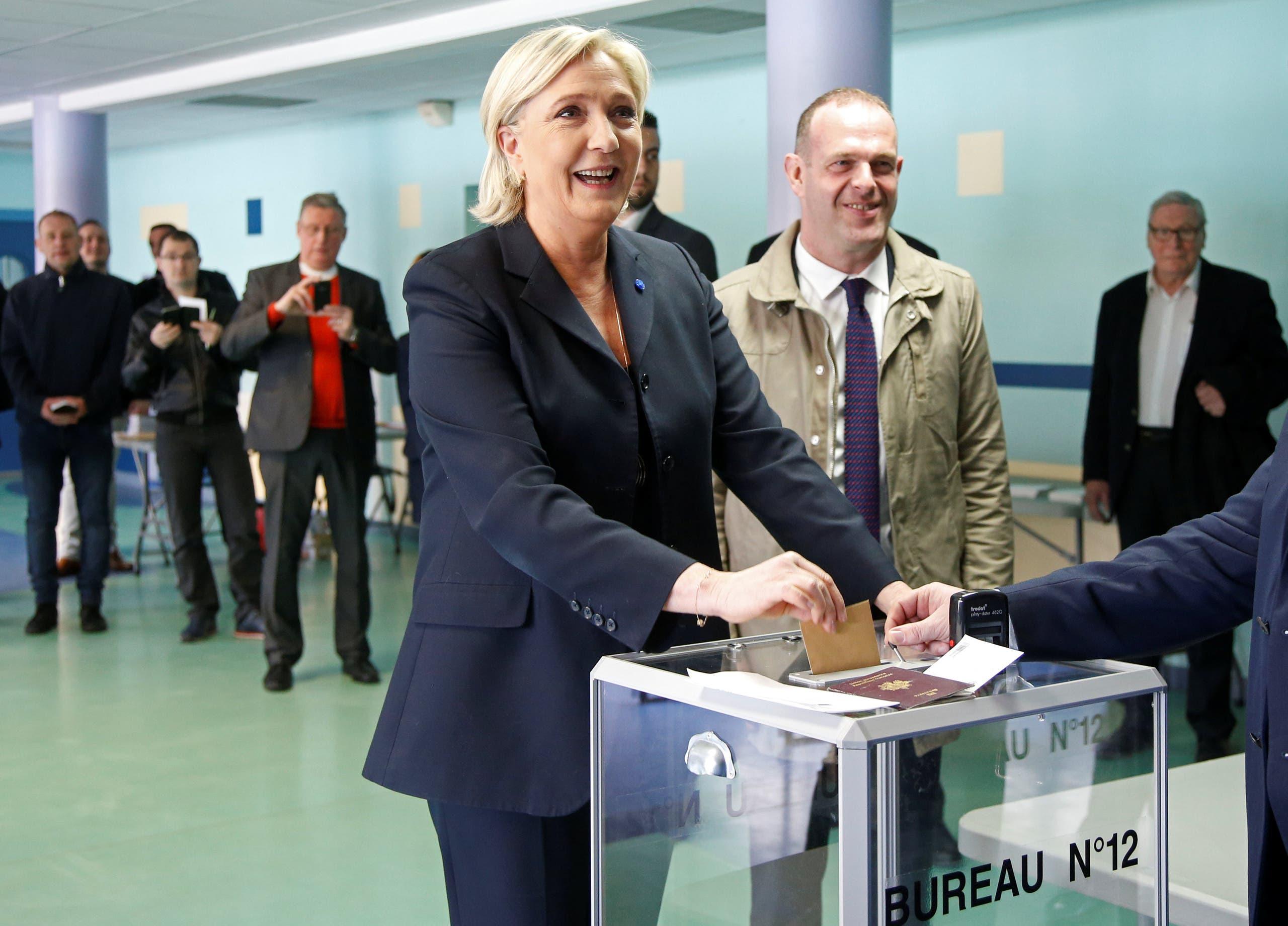 زعيمة اليمين المتطرف مارين لوبان